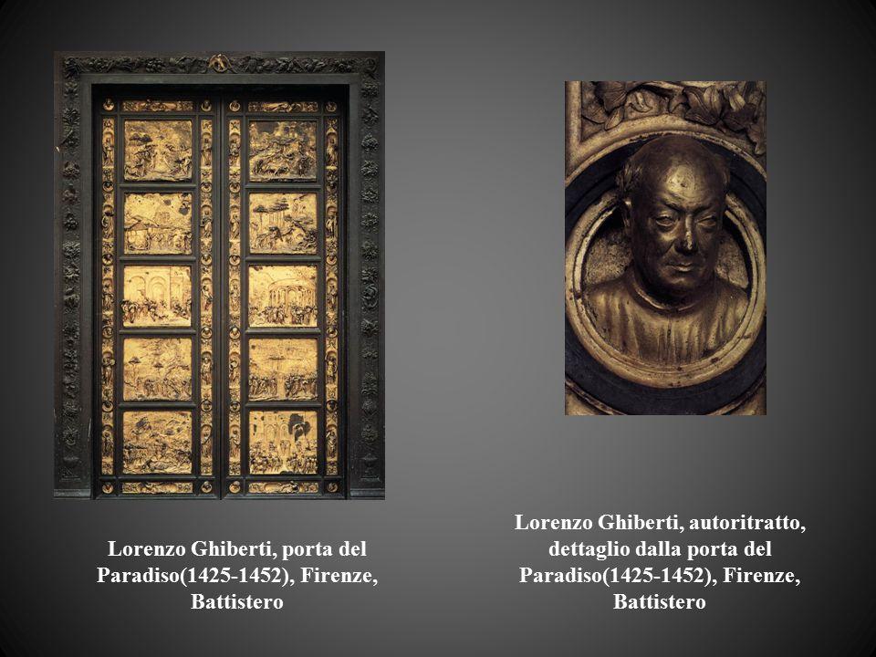 Lorenzo Ghiberti, porta del Paradiso(1425-1452), Firenze, Battistero