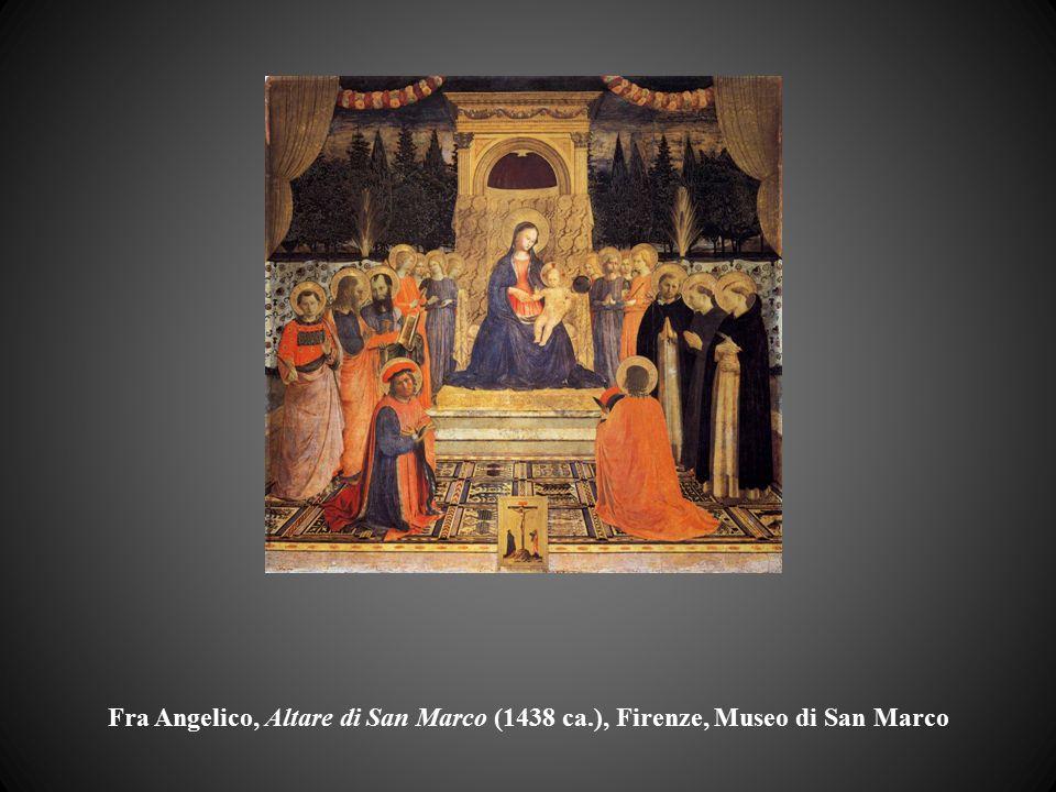 Fra Angelico, Altare di San Marco (1438 ca
