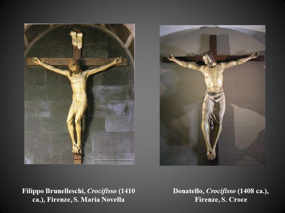 Filippo Brunelleschi, Crocifisso (1410 ca.), Firenze, S. Maria Novella