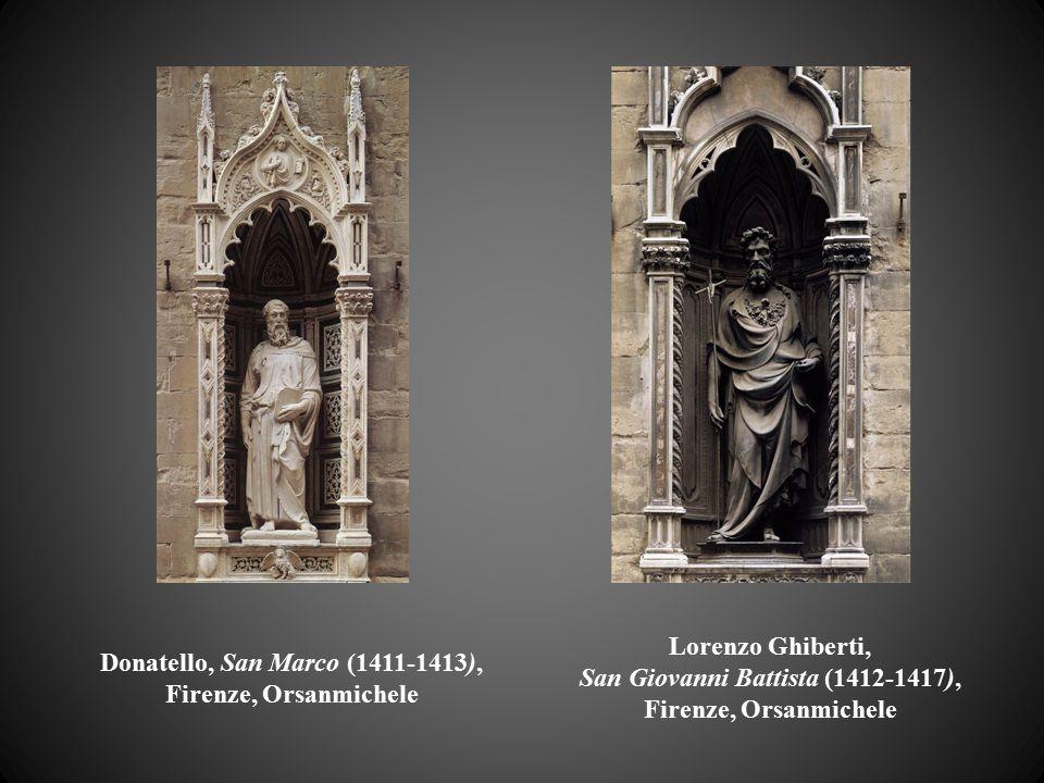Donatello, San Marco (1411-1413), Firenze, Orsanmichele