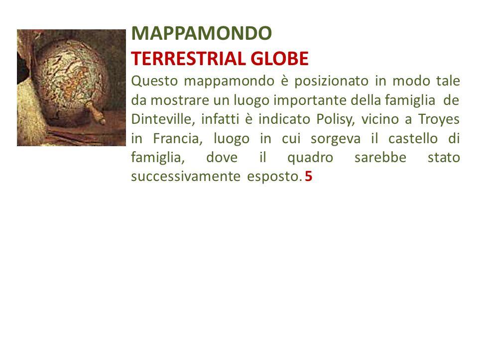 MAPPAMONDO TERRESTRIAL GLOBE