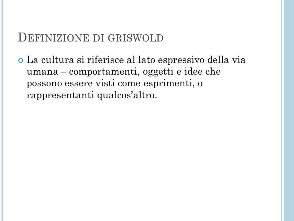 Definizione di griswold