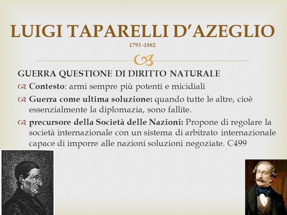LUIGI TAPARELLI D'AZEGLIO 1793 -1862