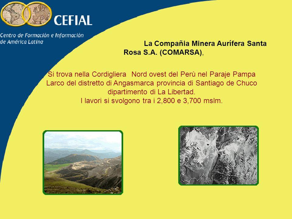 La Compañia Minera Aurífera Santa Rosa S.A. (COMARSA),