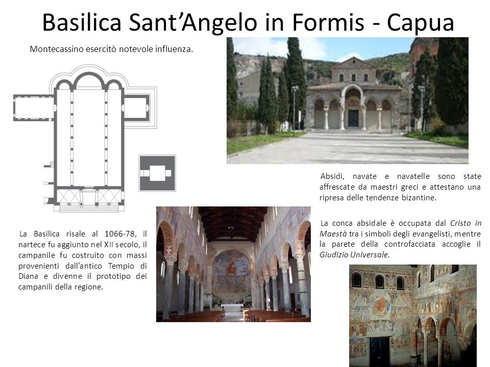 Basilica Sant'Angelo in Formis - Capua