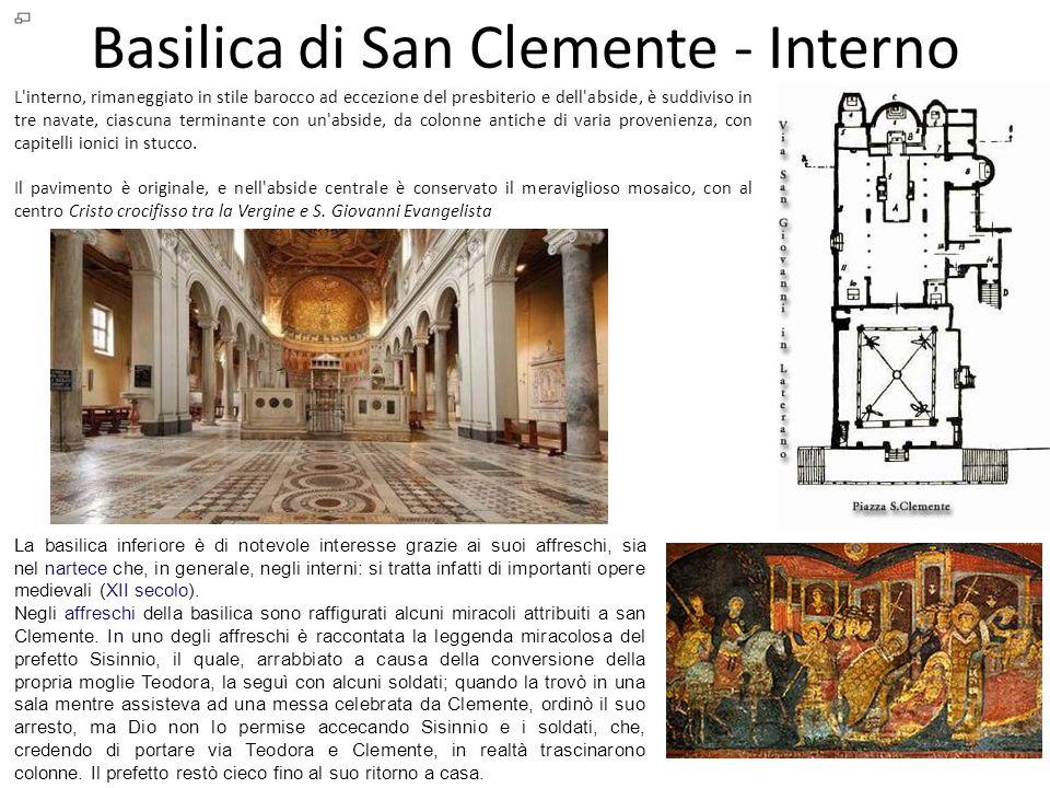 Basilica di San Clemente - Interno