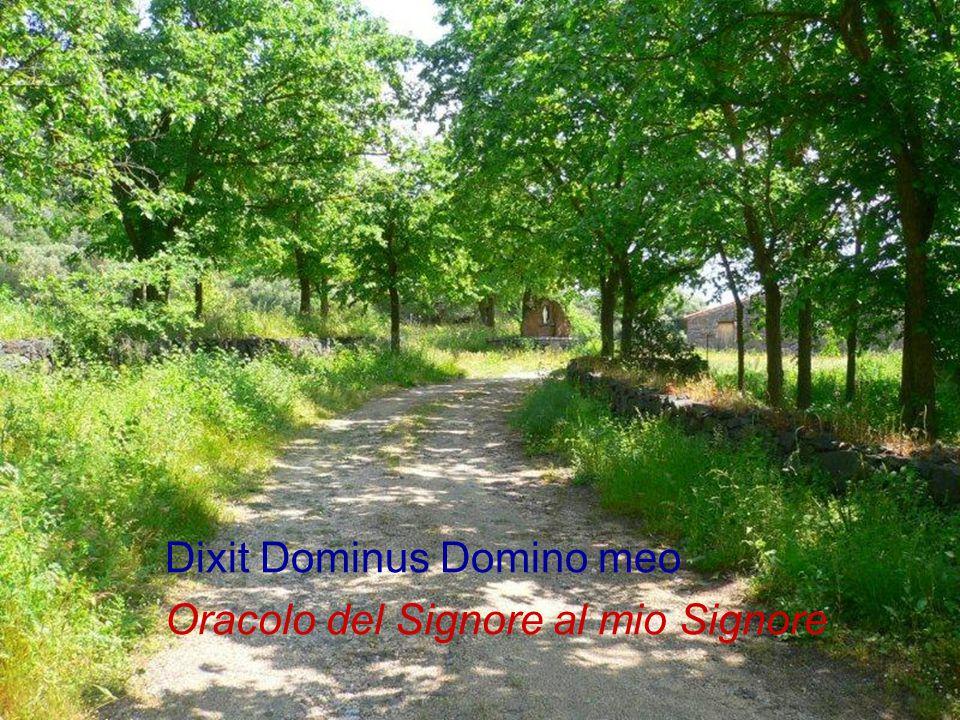 Dixit Dominus Domino meo