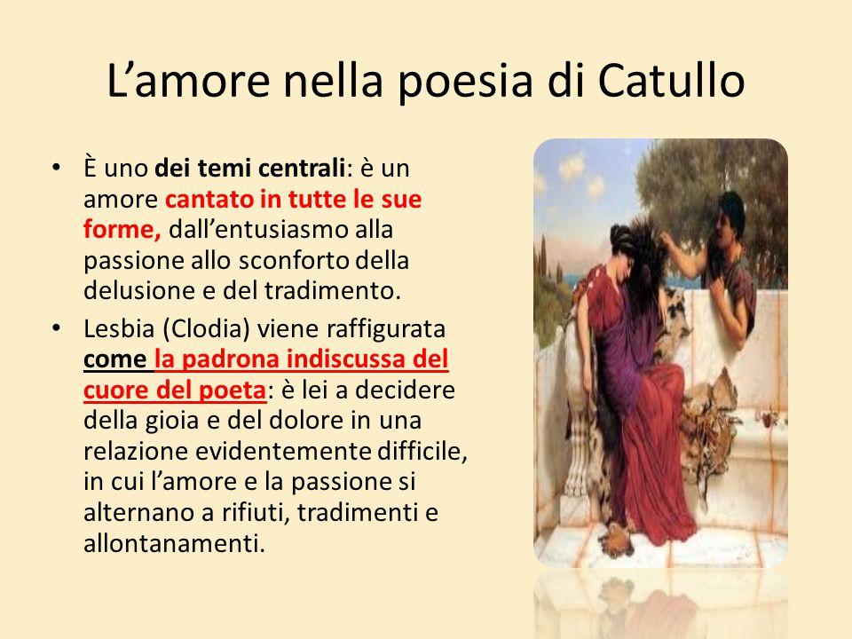 L'amore nella poesia di Catullo