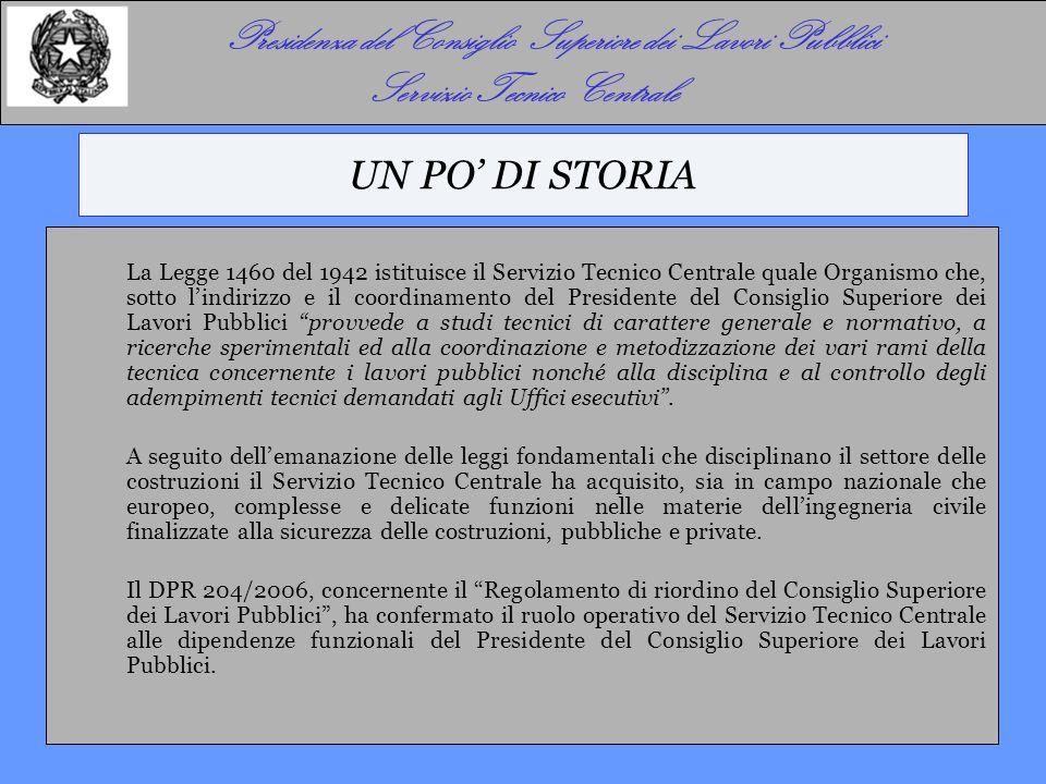 LE PRINCIPALI ATTIVITA' (DPR 204/2006)