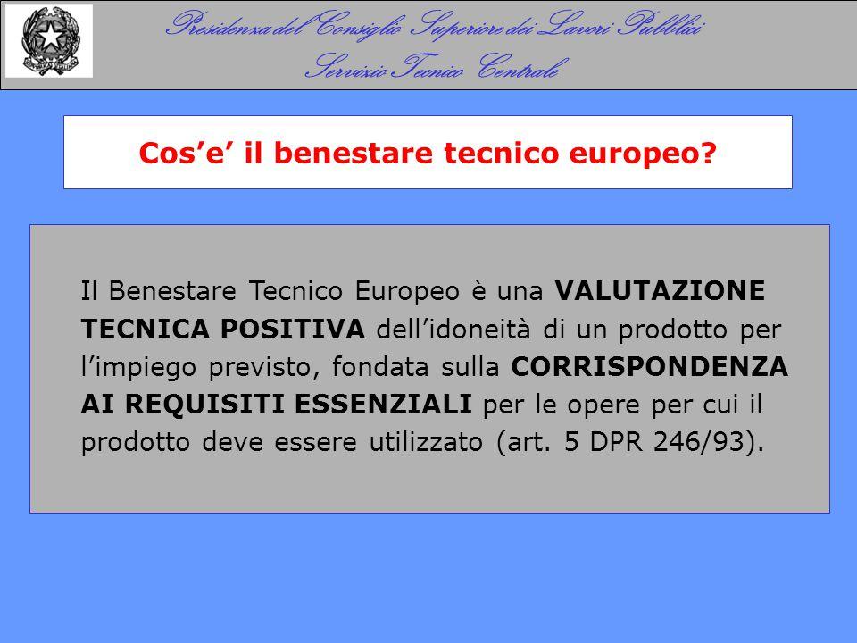 Il benestare tecnico europeo - ETA