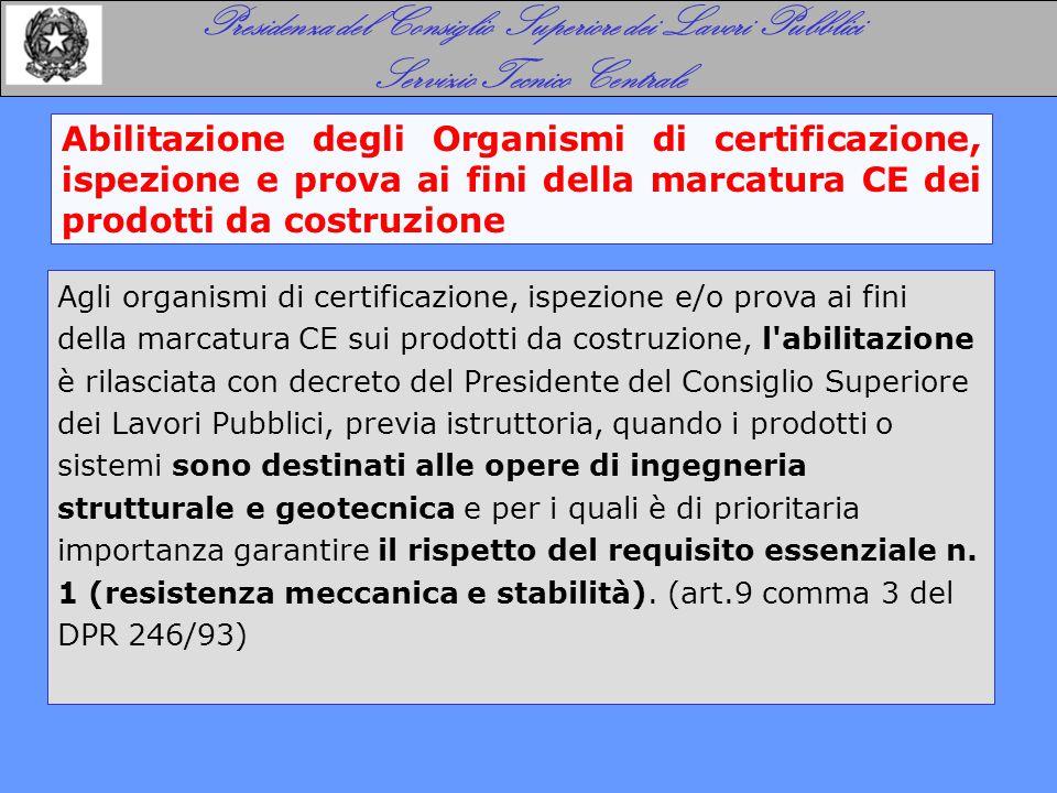 Requisiti degli Organismi (DM 9 maggio 2003, n. 156)