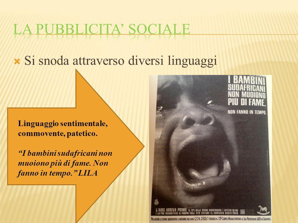 La pubblicita' sociale