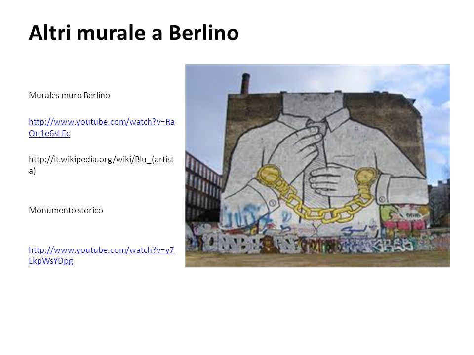 Altri murale a Berlino Murales muro Berlino