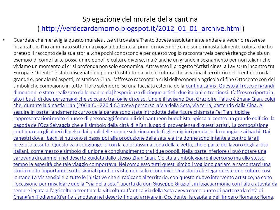 Spiegazione del murale della cantina ( http://verdecardamomo. blogspot