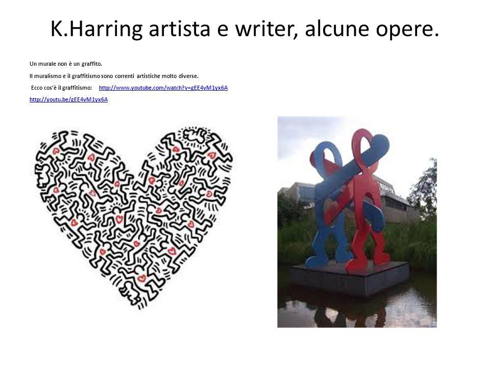 K.Harring artista e writer, alcune opere.