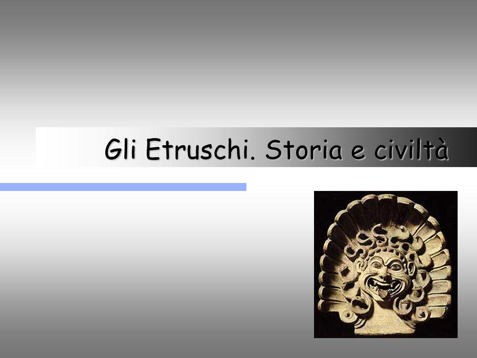 Gli Etruschi. Storia e civiltà