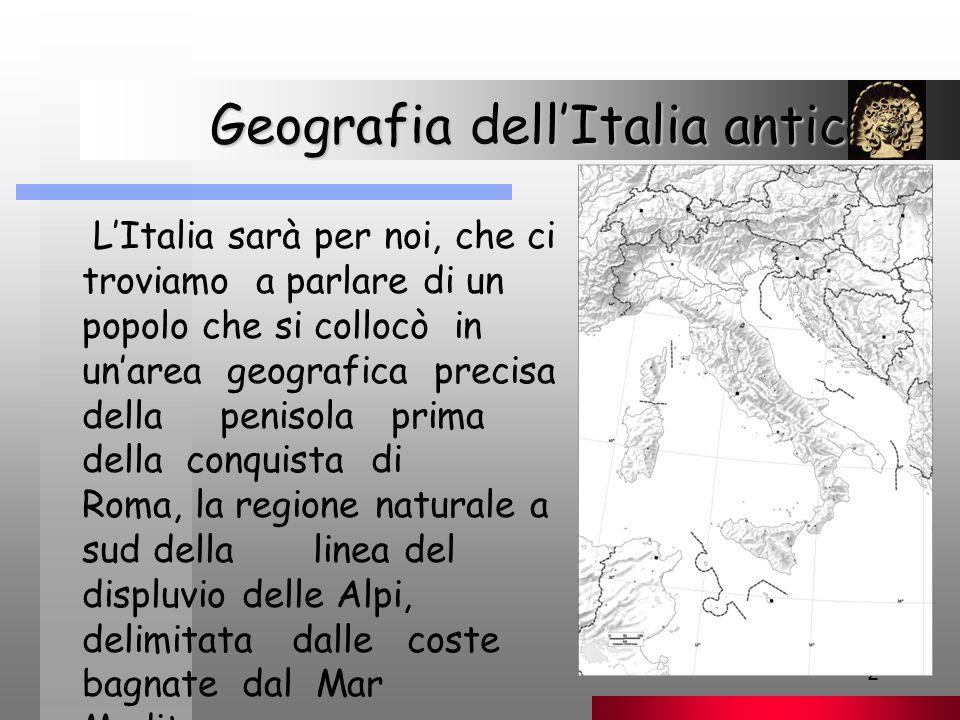 Geografia dell'Italia antica