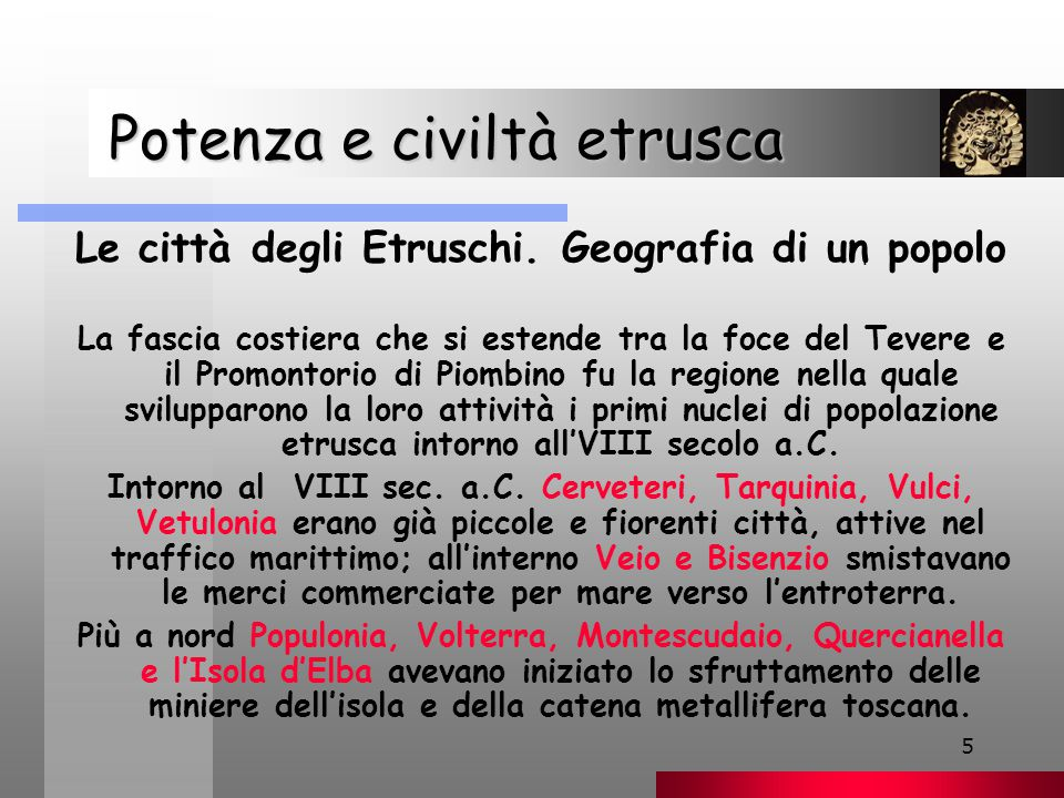 Potenza e civiltà etrusca