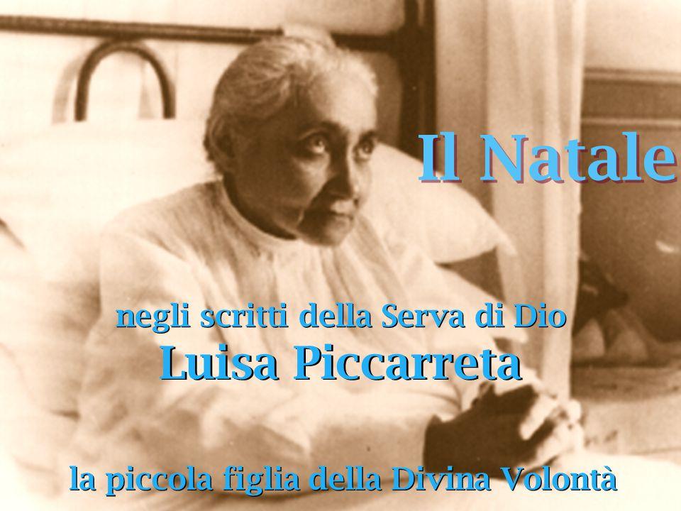 Il Natale Luisa Piccarreta negli scritti della Serva di Dio
