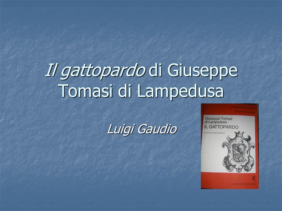 Il gattopardo di Giuseppe Tomasi di Lampedusa