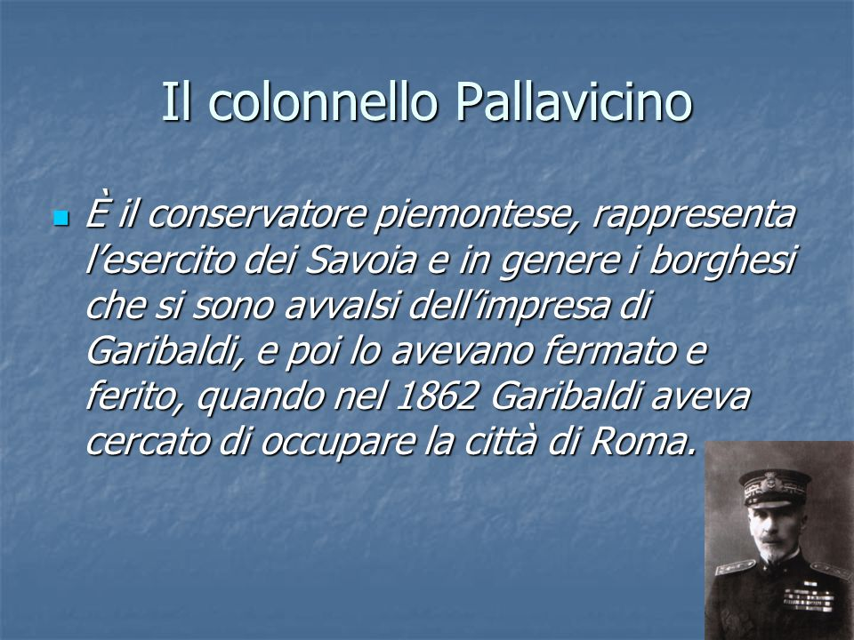 Il colonnello Pallavicino