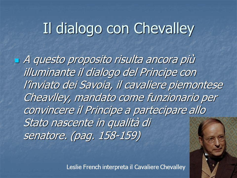 Il dialogo con Chevalley