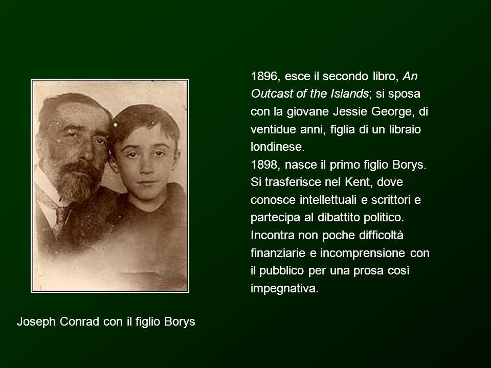 Joseph Conrad con il figlio Borys