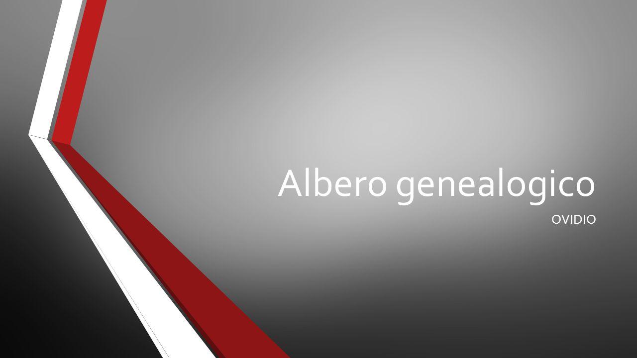 Albero genealogico OVIDIO