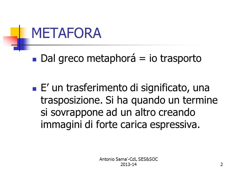 Antonio Sama -CdL SES&SOC 2013-14