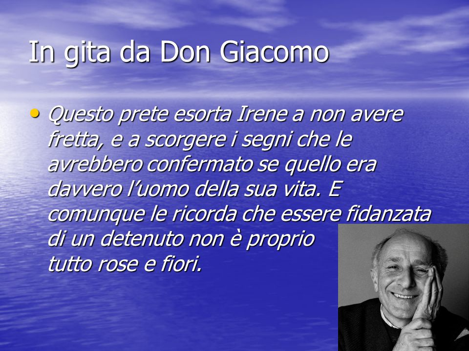In gita da Don Giacomo