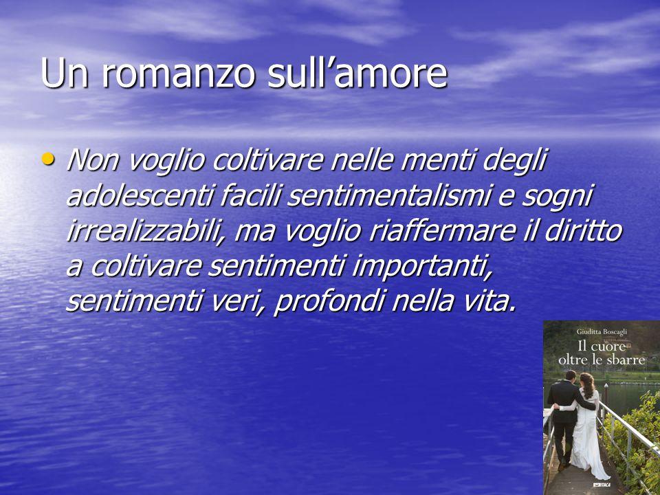 Un romanzo sull'amore