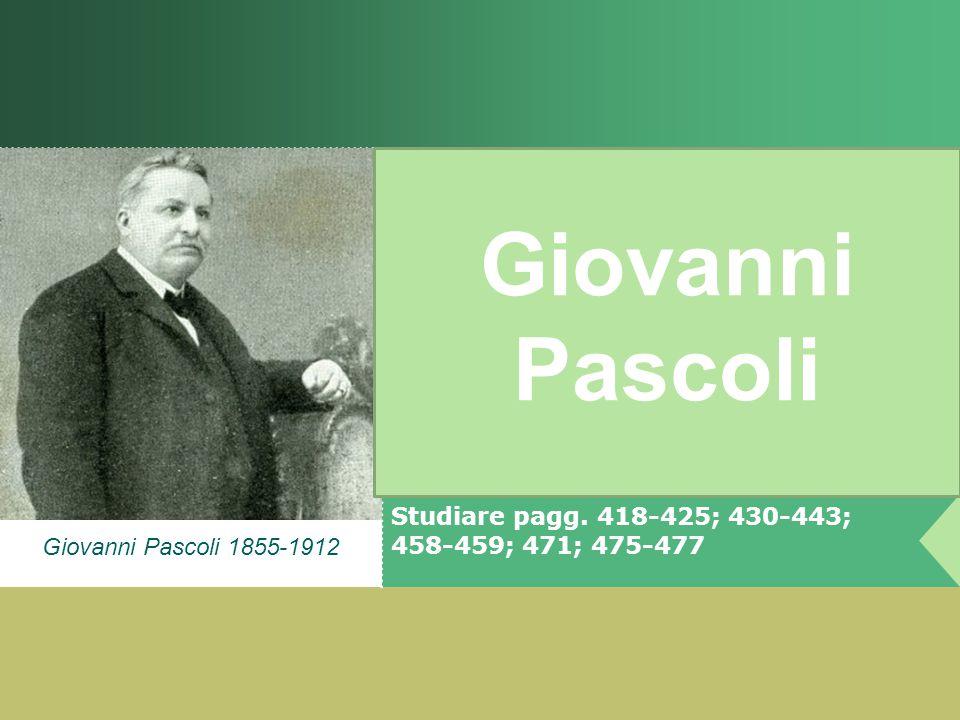 Studiare pagg. 418-425; 430-443; 458-459; 471; 475-477