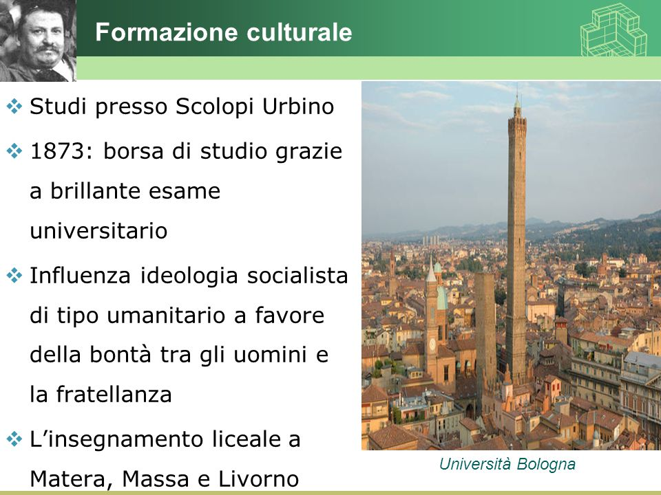 Formazione culturale Studi presso Scolopi Urbino
