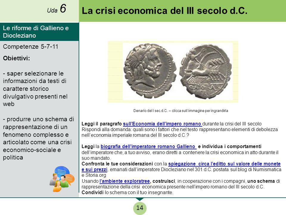 La crisi economica del III secolo d.C.