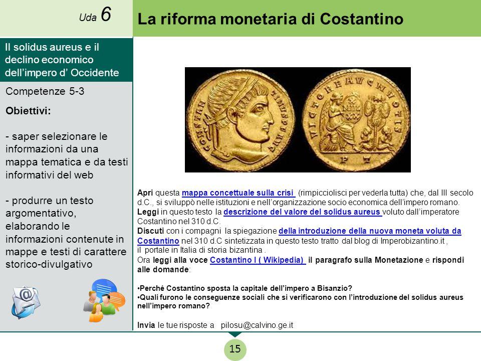 La riforma monetaria di Costantino