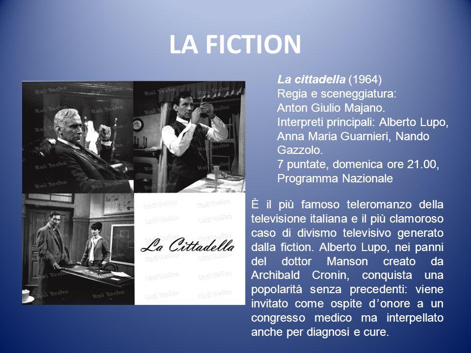 LA FICTION La cittadella (1964) Regia e sceneggiatura:
