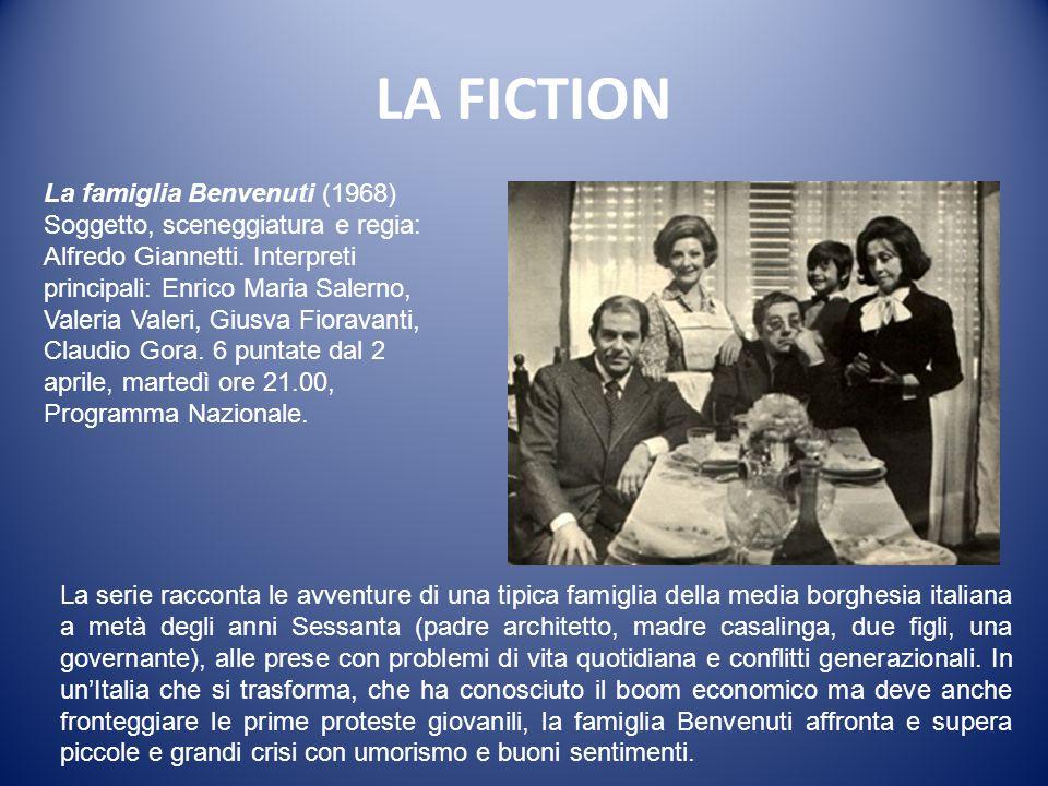 LA FICTION La famiglia Benvenuti (1968)