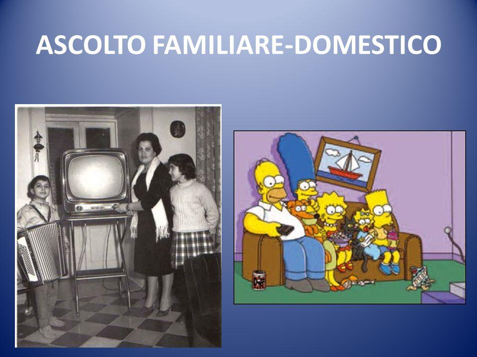 ASCOLTO FAMILIARE-DOMESTICO
