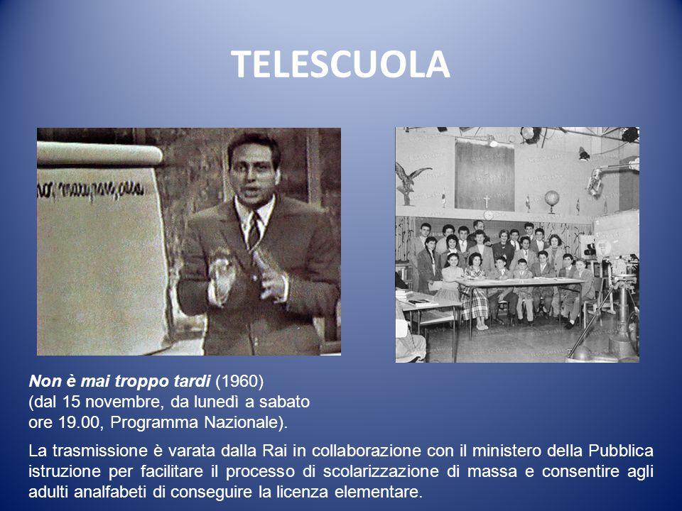 TELESCUOLA Non è mai troppo tardi (1960)
