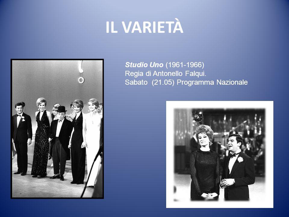 IL VARIETÀ Studio Uno (1961-1966) Regia di Antonello Falqui.