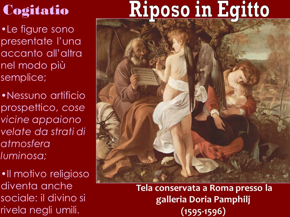 Tela conservata a Roma presso la galleria Doria Pamphilj