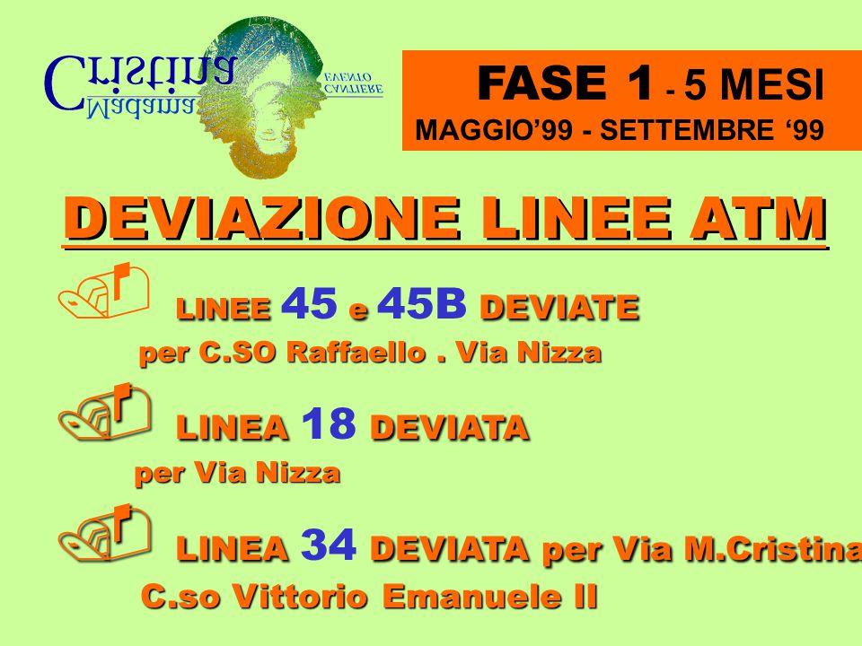  LINEA 34 DEVIATA per Via M.Cristina