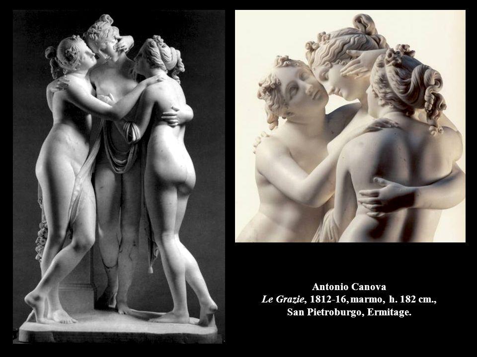Antonio Canova Le Grazie, 1812-16, marmo, h. 182 cm