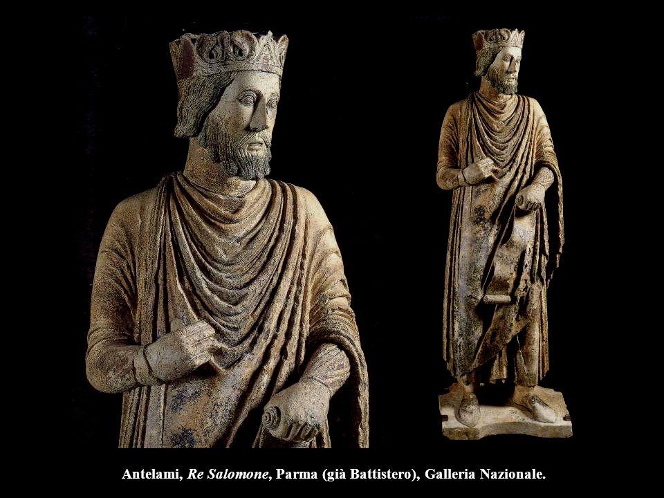 Antelami, Re Salomone, Parma (già Battistero), Galleria Nazionale.