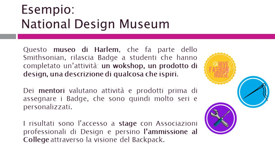 Esempio: National Design Museum