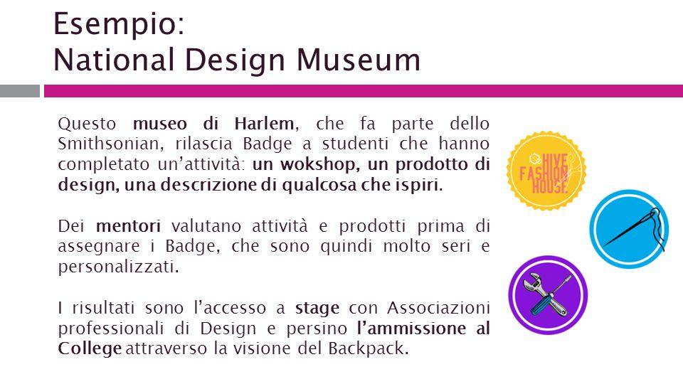 Esempio: National Design Museum