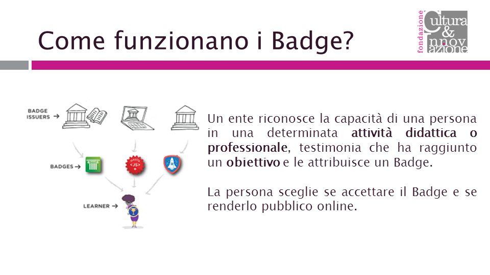 Come funzionano i Badge