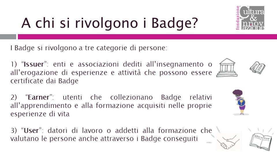 A chi si rivolgono i Badge