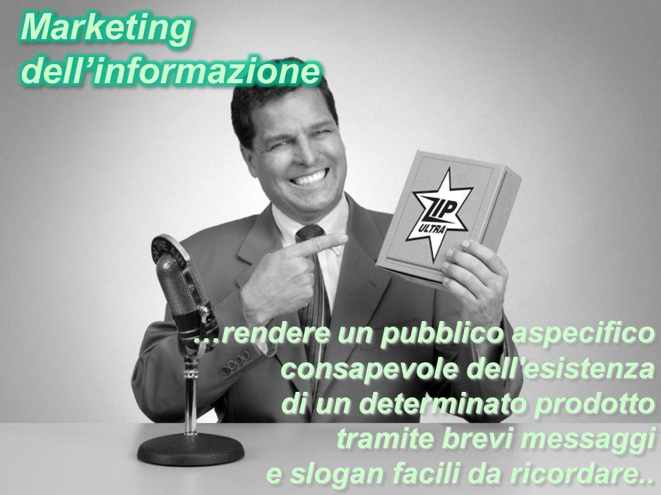 Marketing dell'informazione