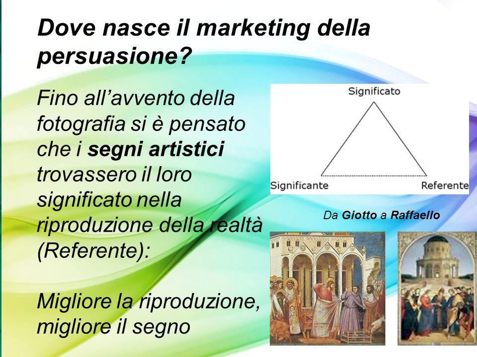Dove nasce il marketing della persuasione